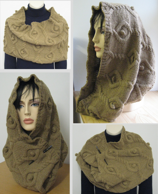 Camel cowl for ColourMart