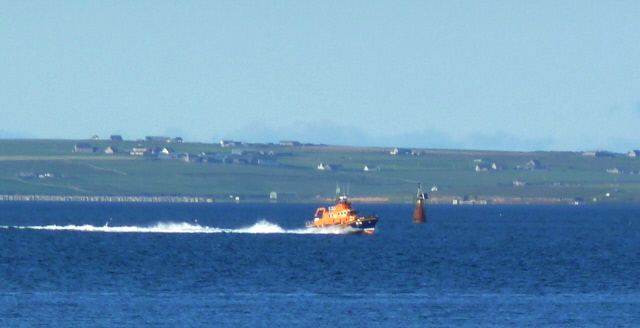 The Helen Comrie off Flotta