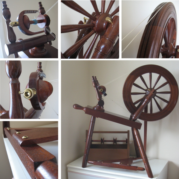 Granville Swanney sloping bed Orkney spinning wheel