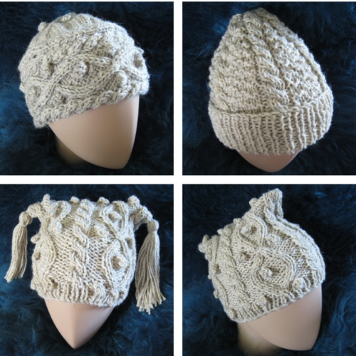 Three North Ronaldsay Hats