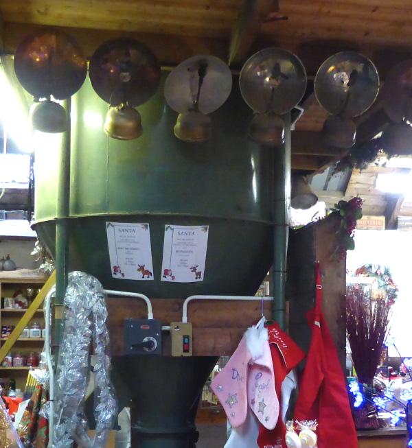 012 bulk hopper and lamps