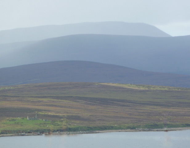 The hills of Hoy from Flotta's West Hill
