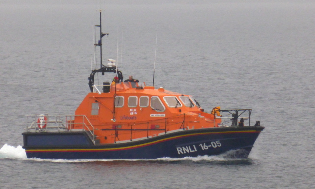RNLI at Flotta 001