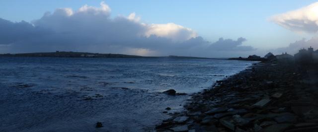 Pierowall shoreline