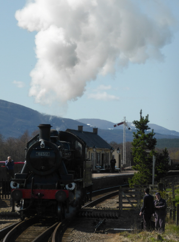 Strathspey Steam Railway  015